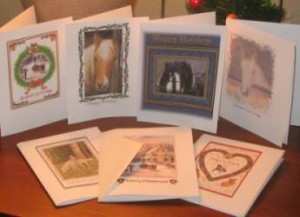 Christmas Cards with Horses